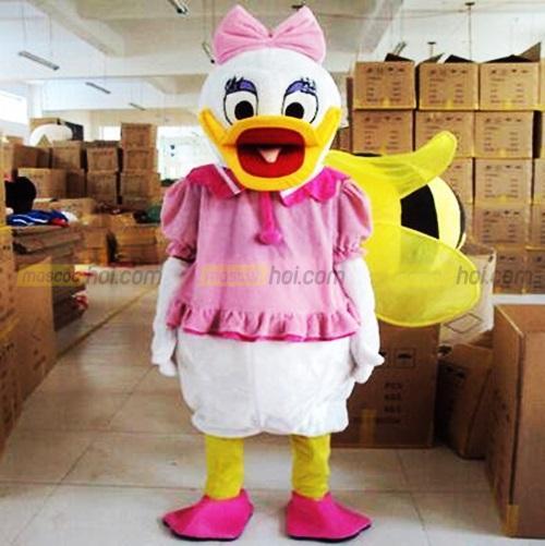 Nhiều người rất thích cách tạo hình nhân vật với các trang phục mascot