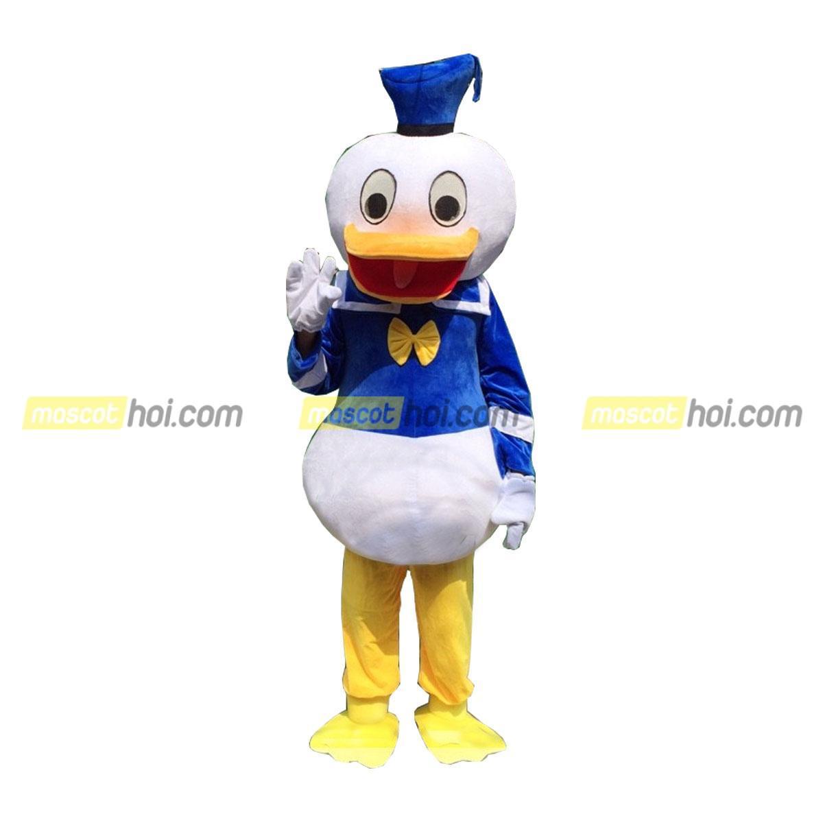 Chú mascot vịt donald đẹp và dễ thương nhất.