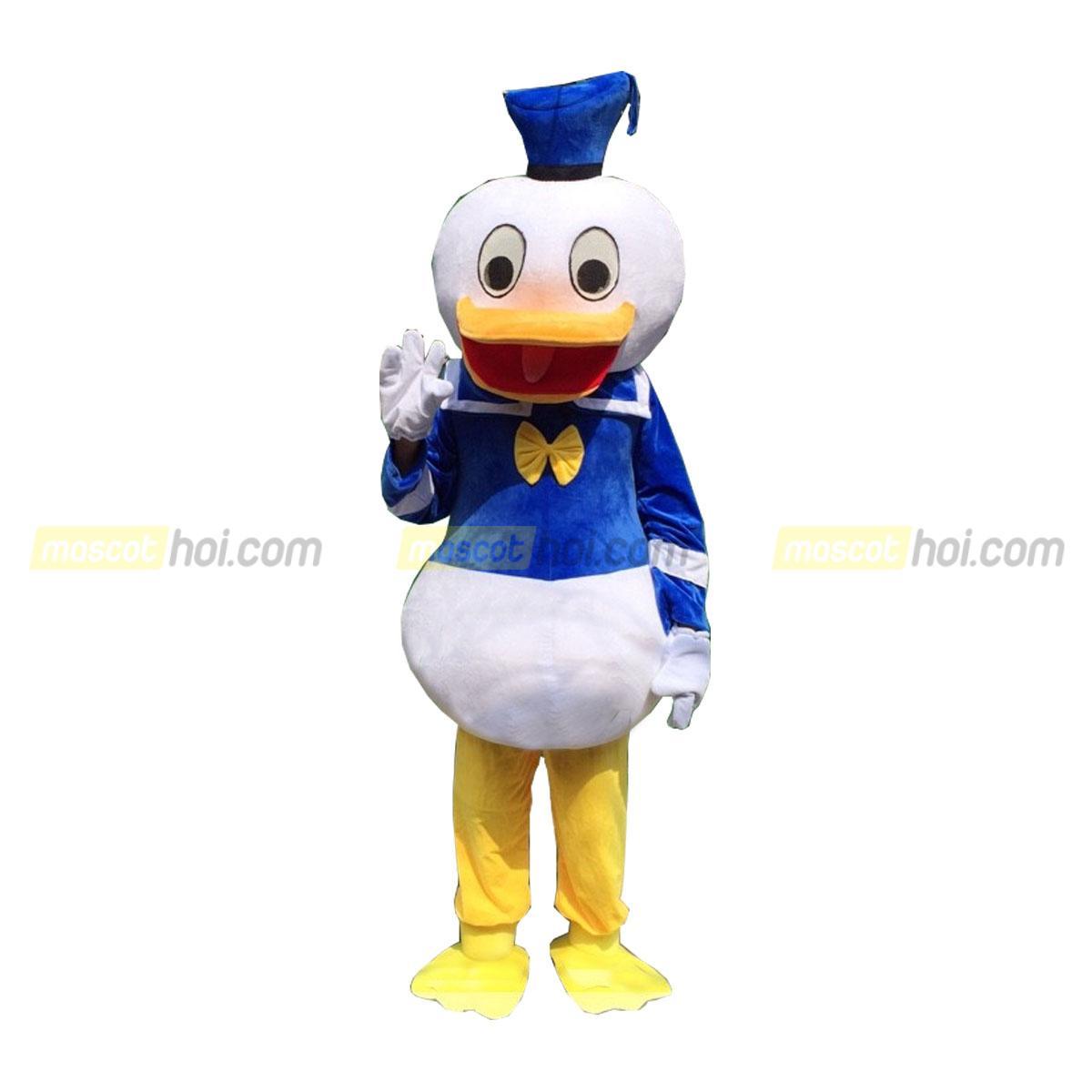 Cho thuê mascot vịt Donald 2 giá rẻtại tphcm