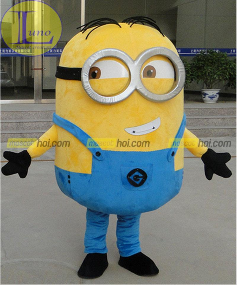 Mẫu mascot minion.