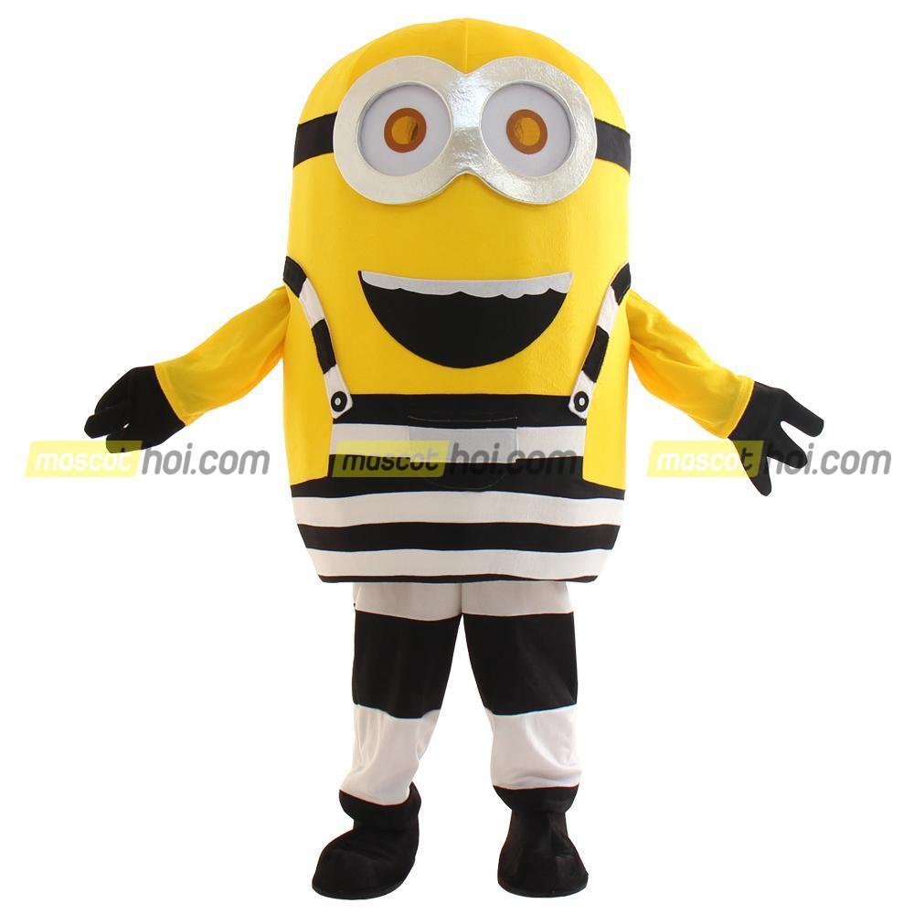Mascot Minion 2 siêu đáng yêu thân thiện với mọi người