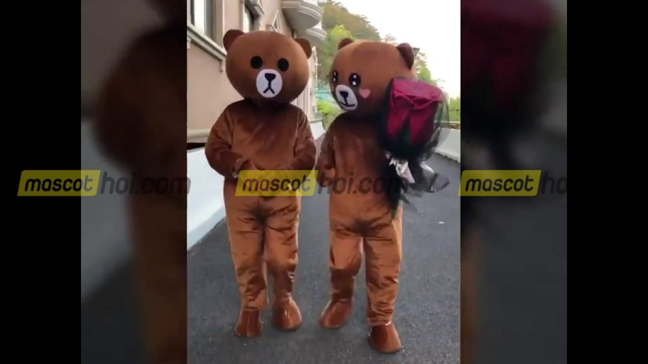 những lợi ích khi mua trang phục mascot gấu brown 4
