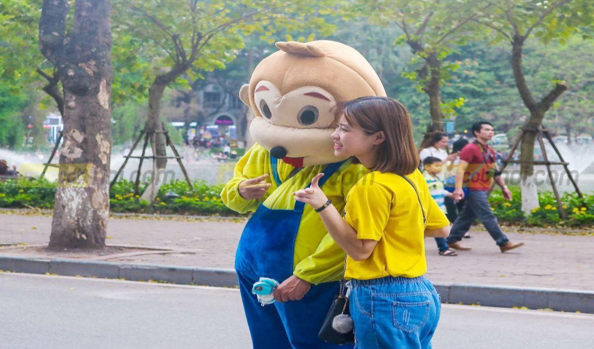 Nghề mặc mascot