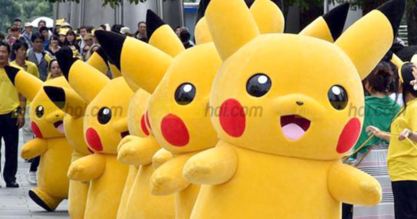 May mascot Pikachu 2