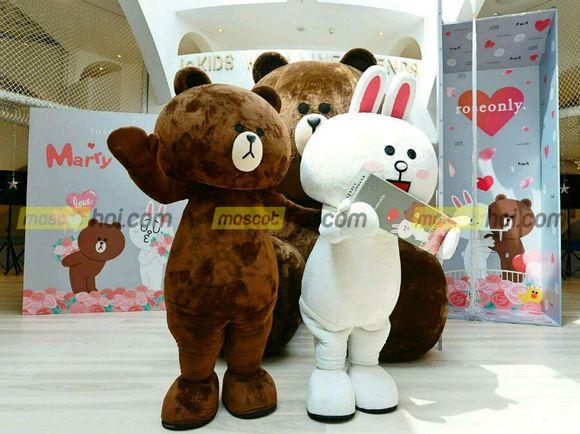 May mascot gấu 2 ở những nơi uy tín chất lượng