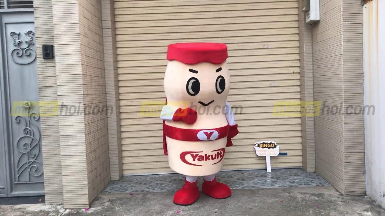 May Mascot mô hình sản phẩm sữa Yakult