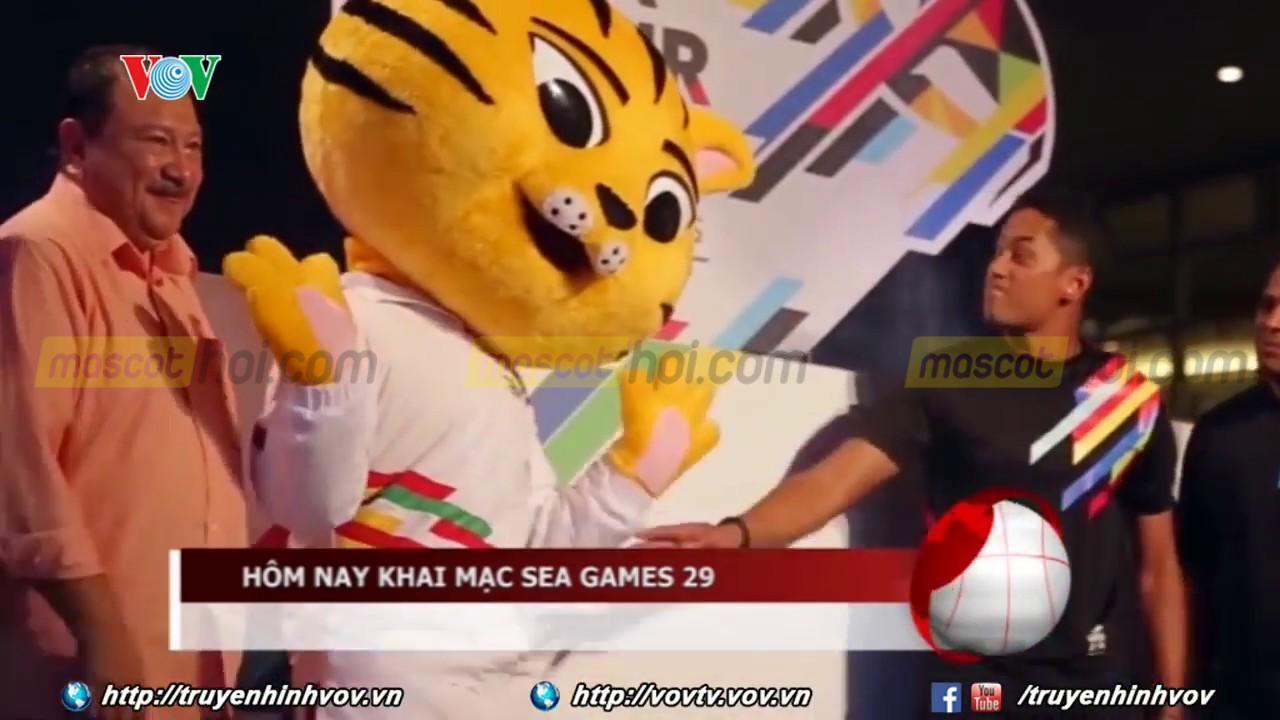 Mèo vàng là một trong những biểu tương của Seagame