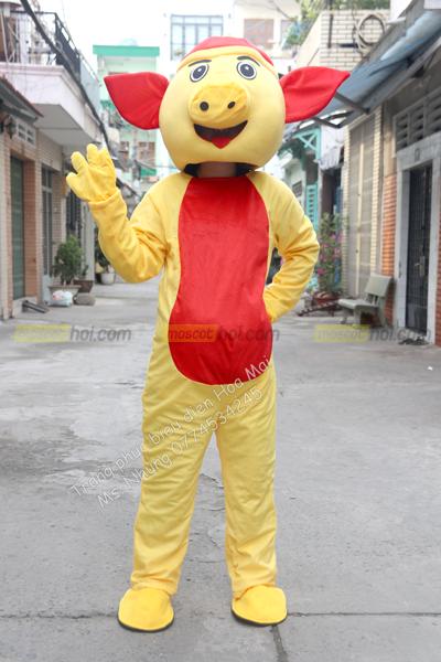 May mascot heo 2 ngộ nghĩnh