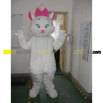 May mascot mèo 2 siêu đáng yêu